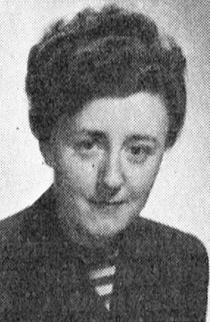 Ulla Borgström in Roosval, Johnny, Gösta Lilja & Knut Andersson (red) Svenskt konstnärslexikon, Allhem, Malmö, 1952-1967. Photographer unknown. Image source: Svenskt Porträttarkiv (CC-BY-SA 4.0)