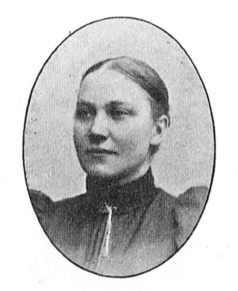 Hilma Börjesson i Bildergalleri för Svenska Missionsförbundet, 1906. Fotograf okänd. Bildkälla: Svenskt Porträttarkiv (CC-BY-NC-SA 4.0 - beskuren)