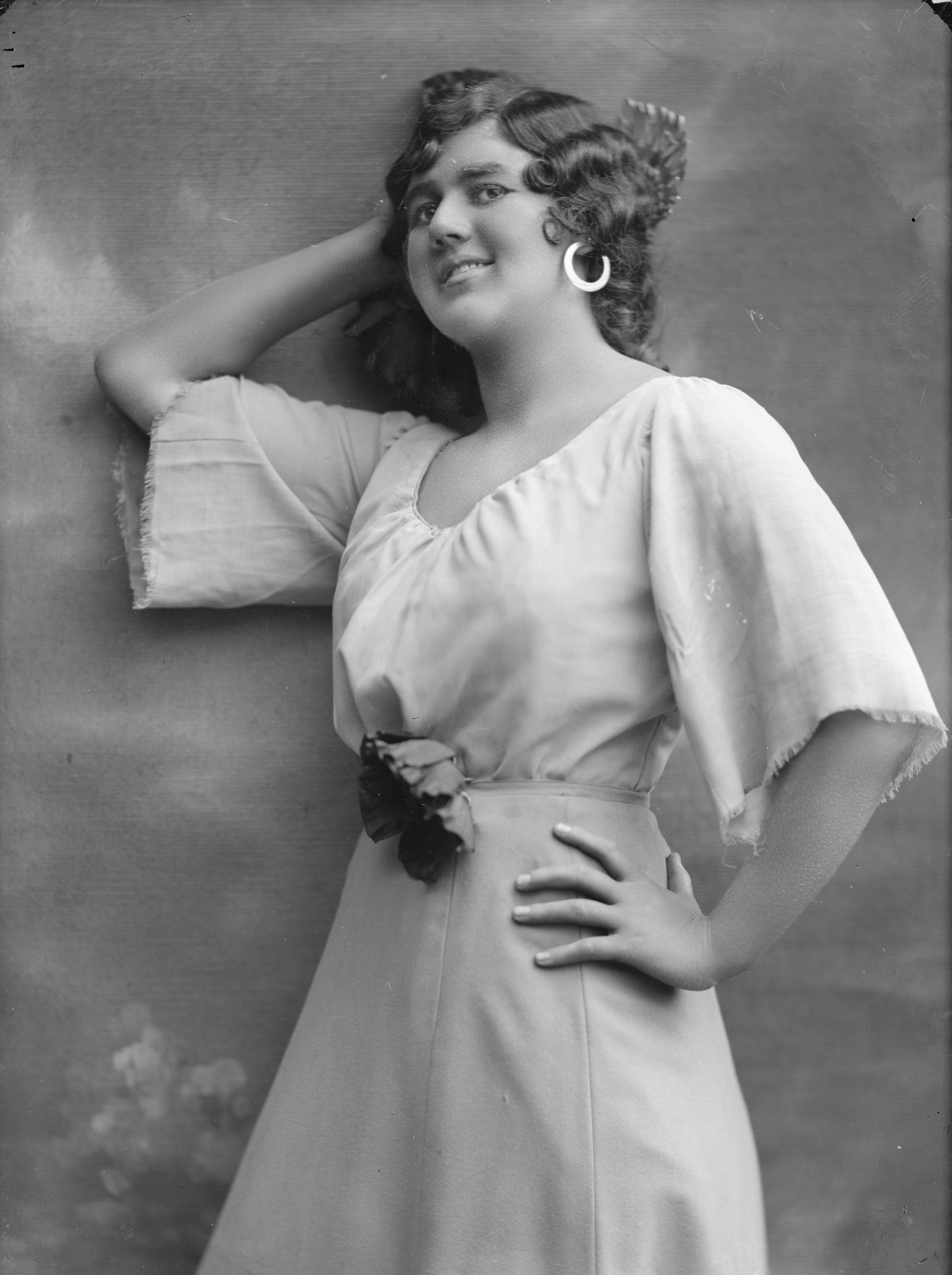 Karin Branzell as Carmen in the Royal Swedish Opera's production, 1913. Foto: Atelier Jaeger (Musik- och teaterbiblioteket, Stockholm, NB108)