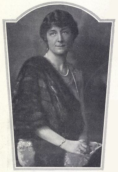 Ann-Ida Broström in Idun no. 49, 1928. Photographer unknown