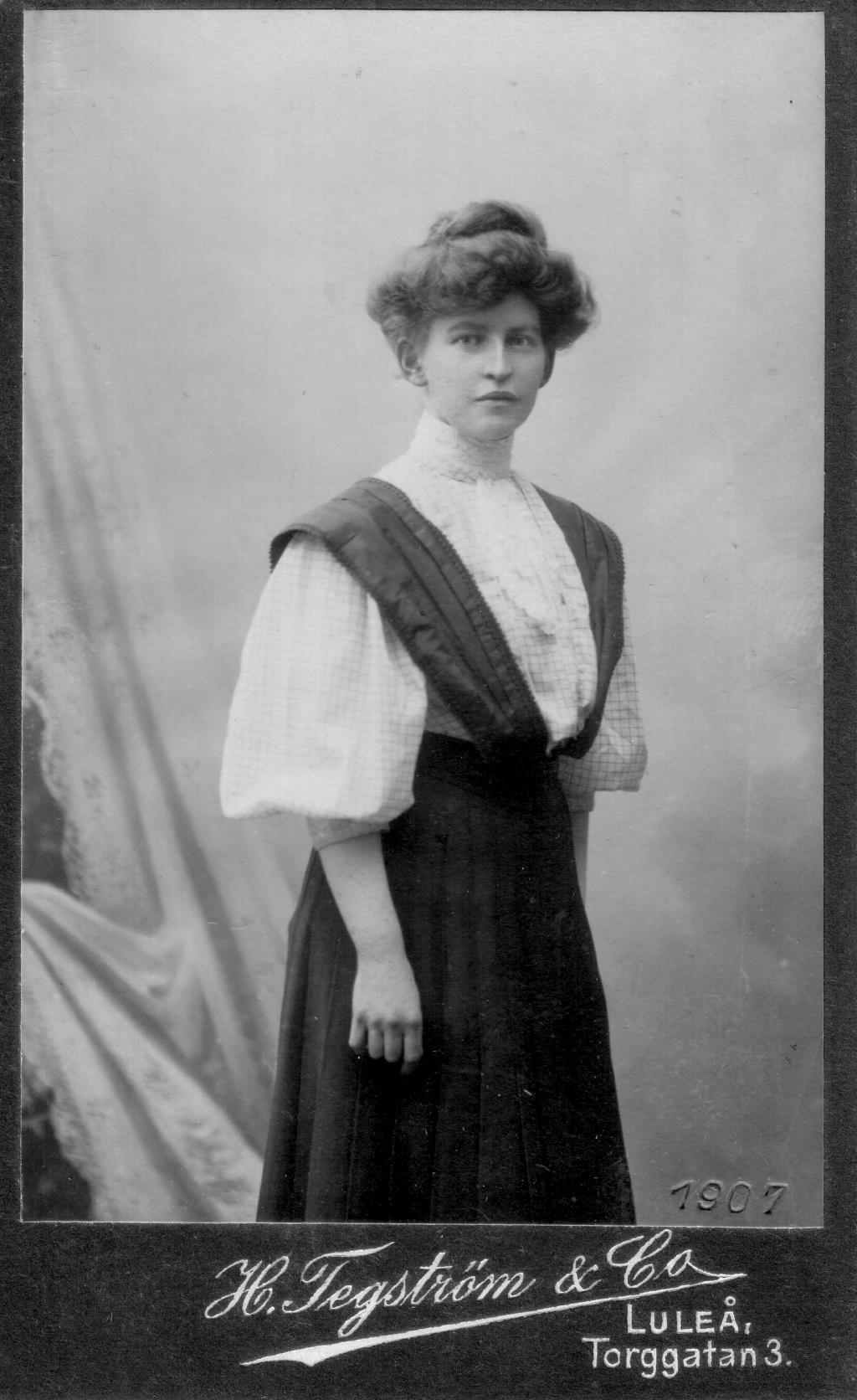 Märta Bucht, 1907