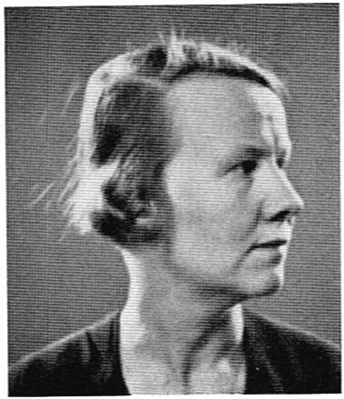 Ellinor Carleman-Beörecz. Photographer and year unknown. Image source: Svenskt Porträttarkiv (CC-BY-SA 4.0)