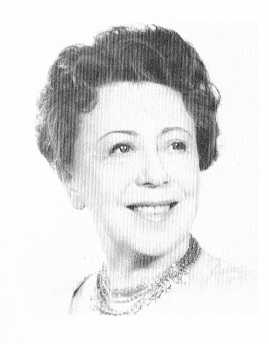 Elsa Carlsson. Fotograf och år okänt. Bildkälla: Svenskt Porträttarkiv (CC-BY-NC-SA 4.0 – beskuren)