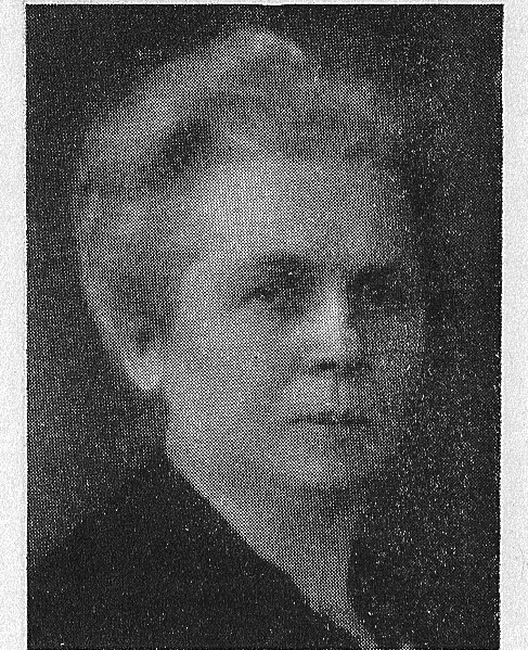 Gerda Cederblom. Photographer and year unknown. Image source: Svenskt Porträttarkiv (CC-BY-NC-SA 4.0 – cropped)