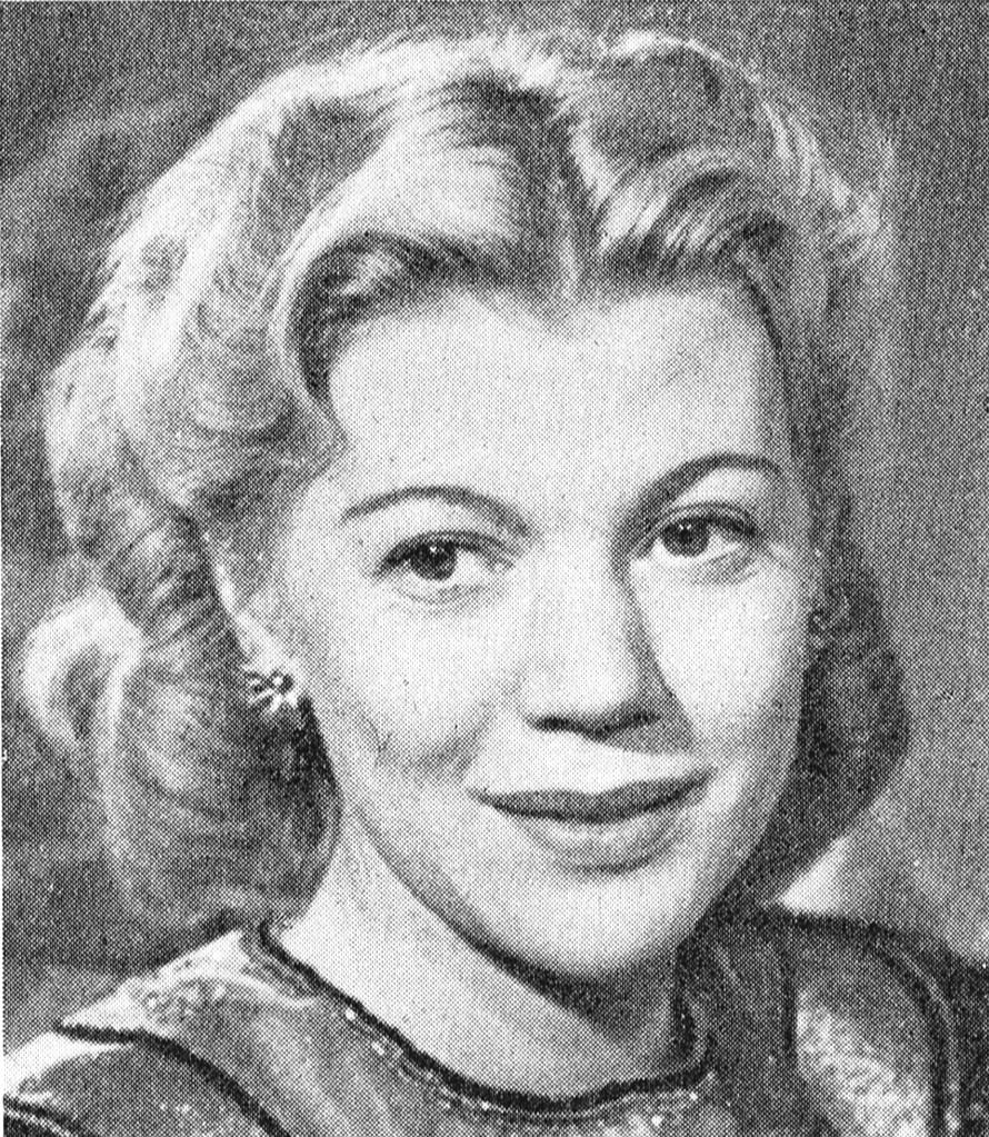 Irma Christenson. Photographer and year unknown. Image source: Svenskt Porträttarkiv (CC-BY-SA 4.0)