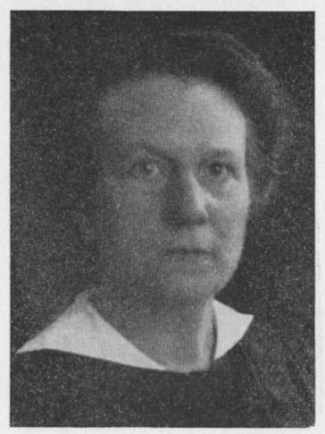 Augusta Christie-Linde. Photographer and year unknown. Image source: Svenskt Porträttarkiv (CC-BY-SA 4.0)