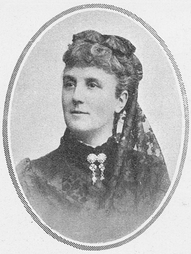 Calla Curman, circa 1880s. Photographer unknown. Image source: Svenskt Porträttarkiv (CC-BY-SA 4.0)