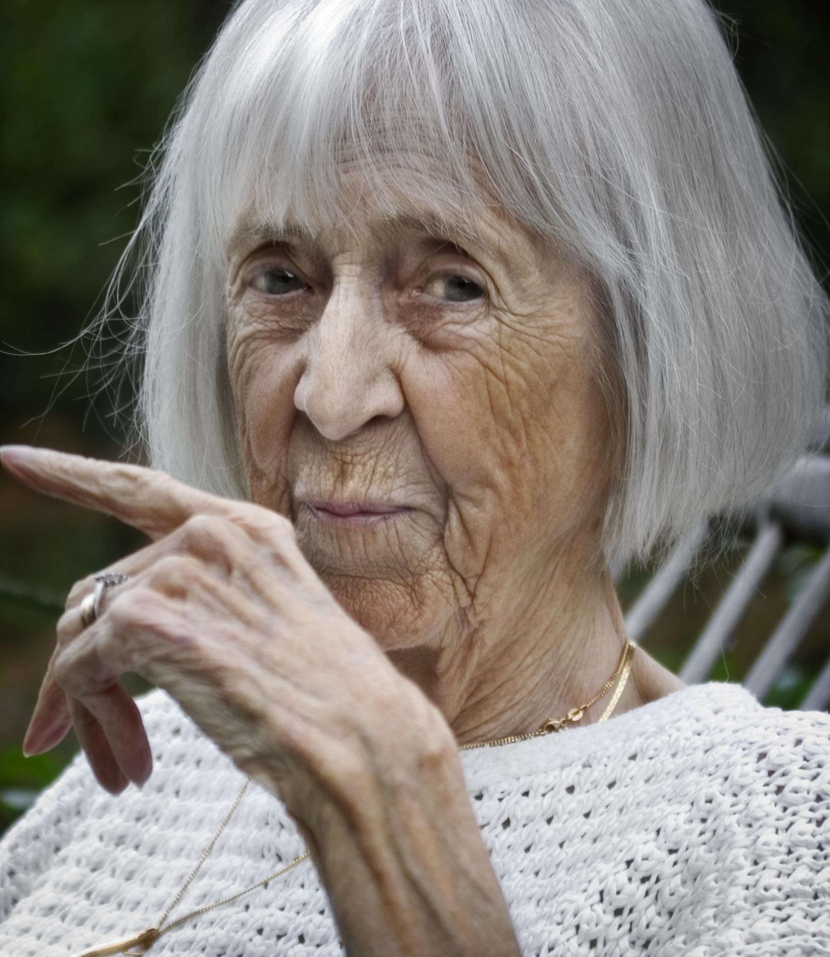 Eva Dahlgren, year unknown. Photo: Krister Hägglund (Skellefteå museum)