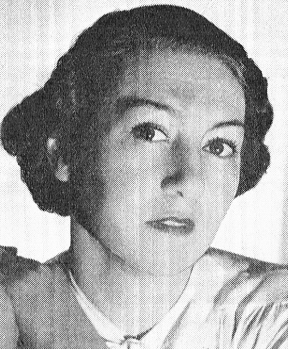 Thora Dardel. Photographer and year unknown. Image source: Svenskt Porträttarkiv (CC-BY-NC-SA 4.0 – cropped)