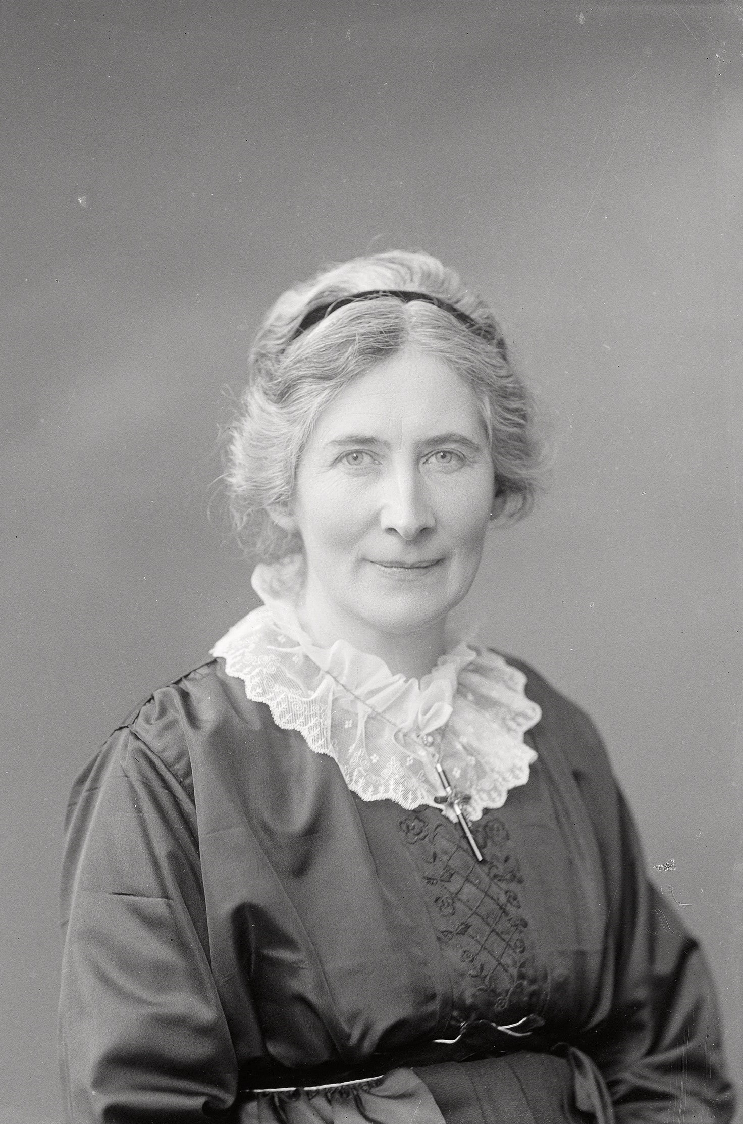 Elisabeth De Vylder, 1918. Photo: Per Bagge (1866-1936). Lund University Libraries, ublu-11534