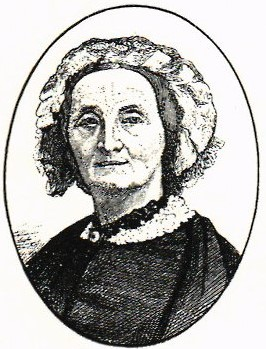 Dorothea Dunckel. Reproduction of woodcut by unknown artist. Image source: Svenskt Porträttarkiv (CC-BY-SA 4.0)