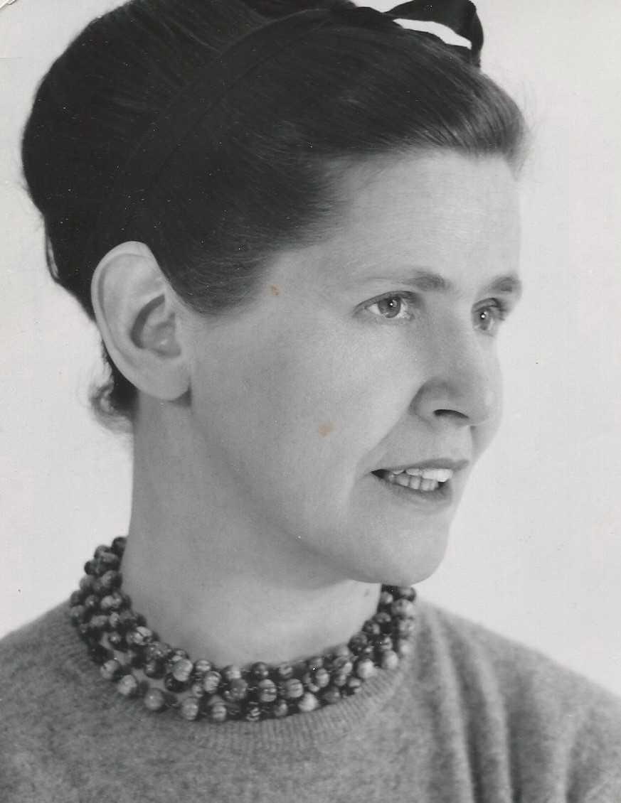 Birgitta Ek. Fotograf och år okänt (bild i privat ägo)