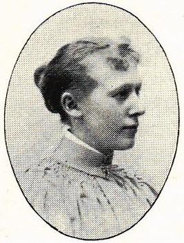Thérèse Ekblom in Hildebrand, Albin och John Kruse (red) Svenskt porträttgalleri XX, Tullberg, Stockholm, 1901. Photographer unknown