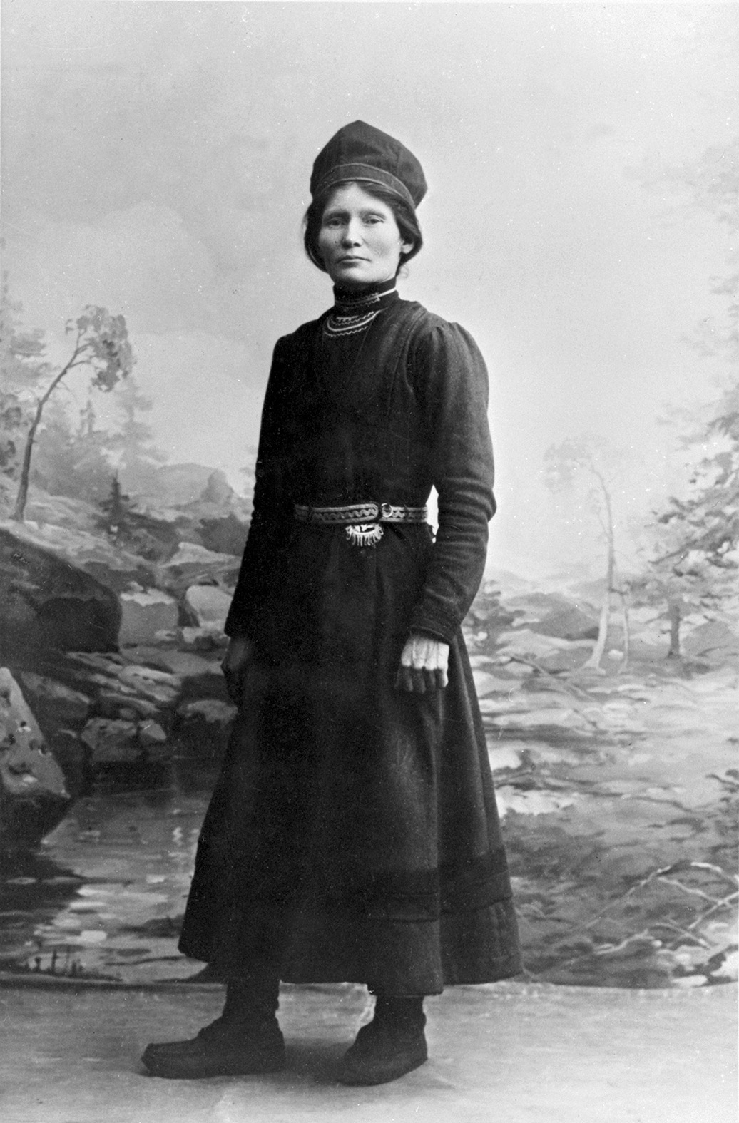 Elsa Laula Renberg, Fotograf okänd, (Tromsø Museum – Universitetsmuseet)