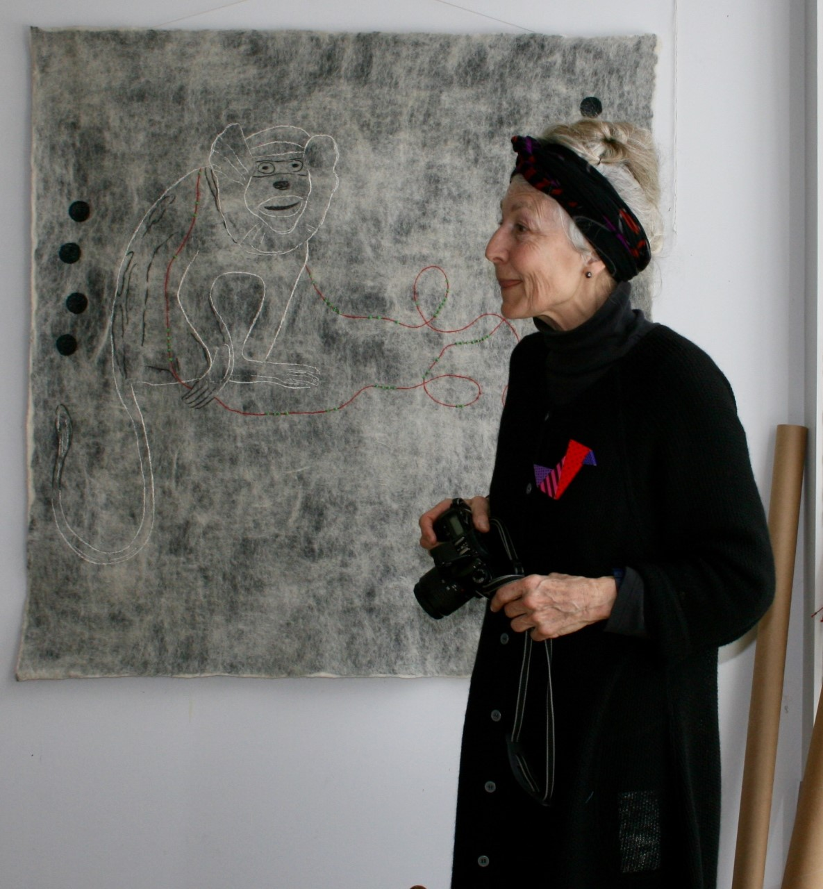 Marianne Erikson, 2008. Photo: Love Jönsson (privately owned image)
