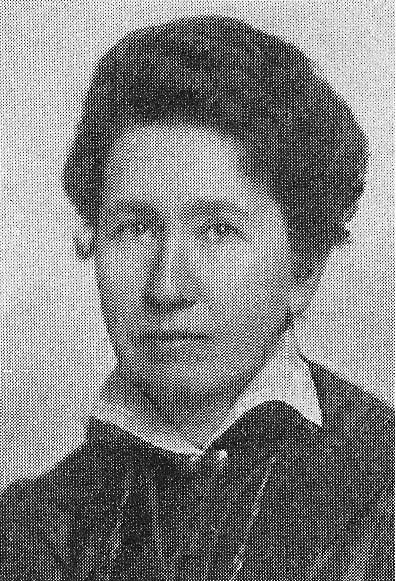 Teresia Eurén. Fotograf och år okänt. Bildkälla: Svenskt Porträttarkiv (CC-BY-NC-SA 4.0)