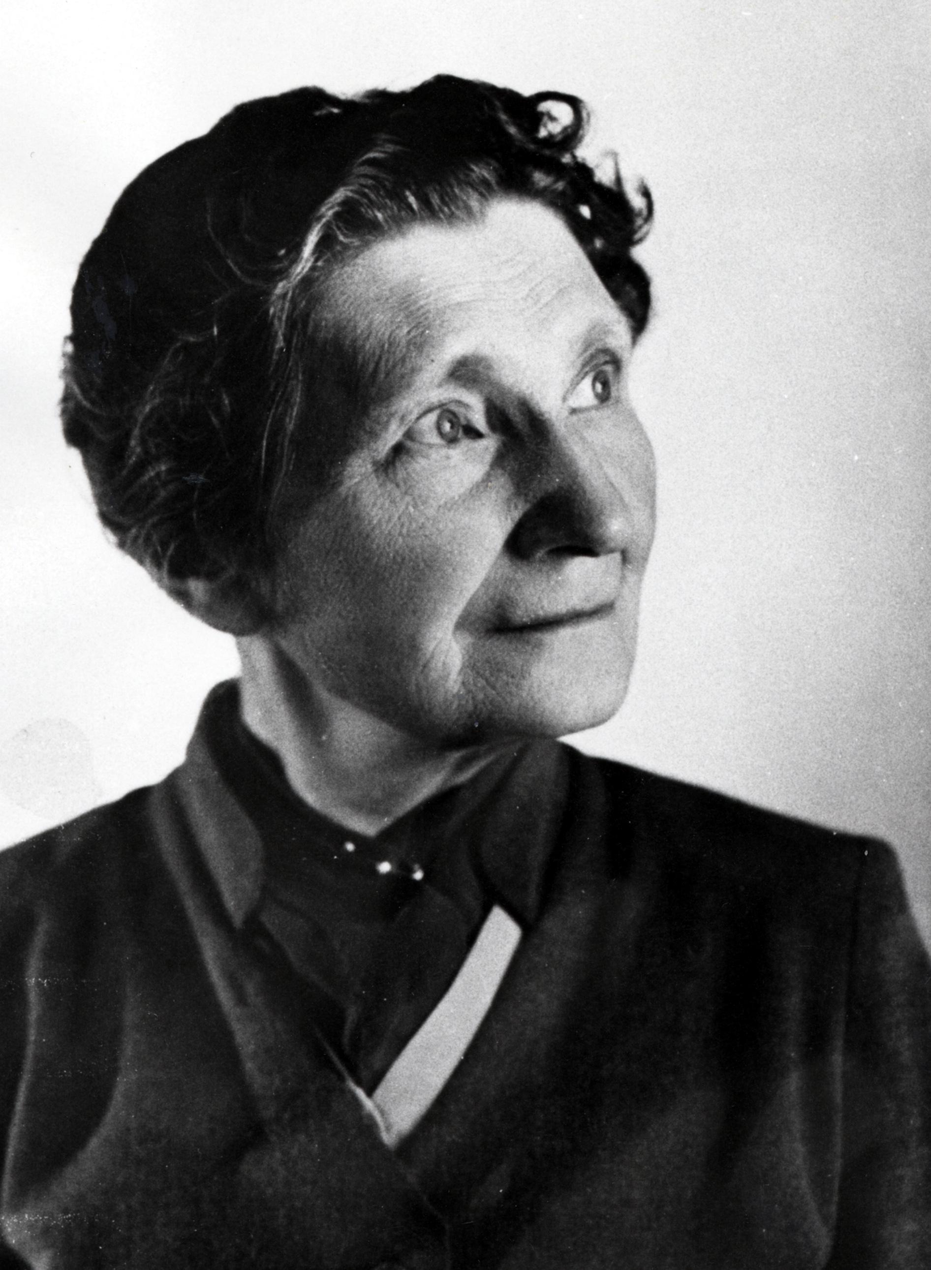 Emilia Fogelklou. Photographer and year unknown (KvinnSam, Gothenburg University Library, A 123:11)