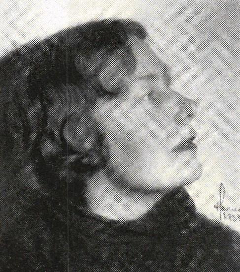Astrid Forsberg. Photographer and year unknown. Image source: Svenskt Porträttarkiv (CC-BY-SA 4.0)