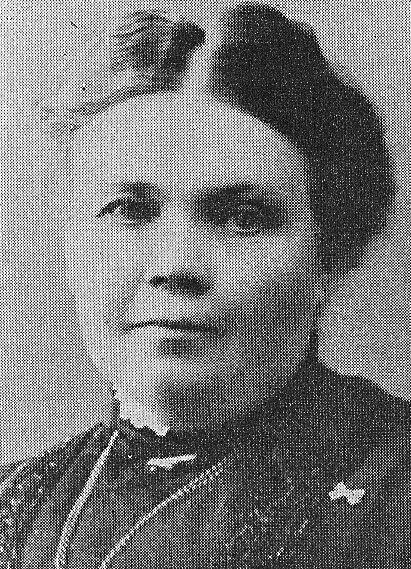 Cecilia Francke. Photographer and year unknown. Image source: Svenskt Porträttarkiv (cropped, CC-BY-NC-SA 4.0)