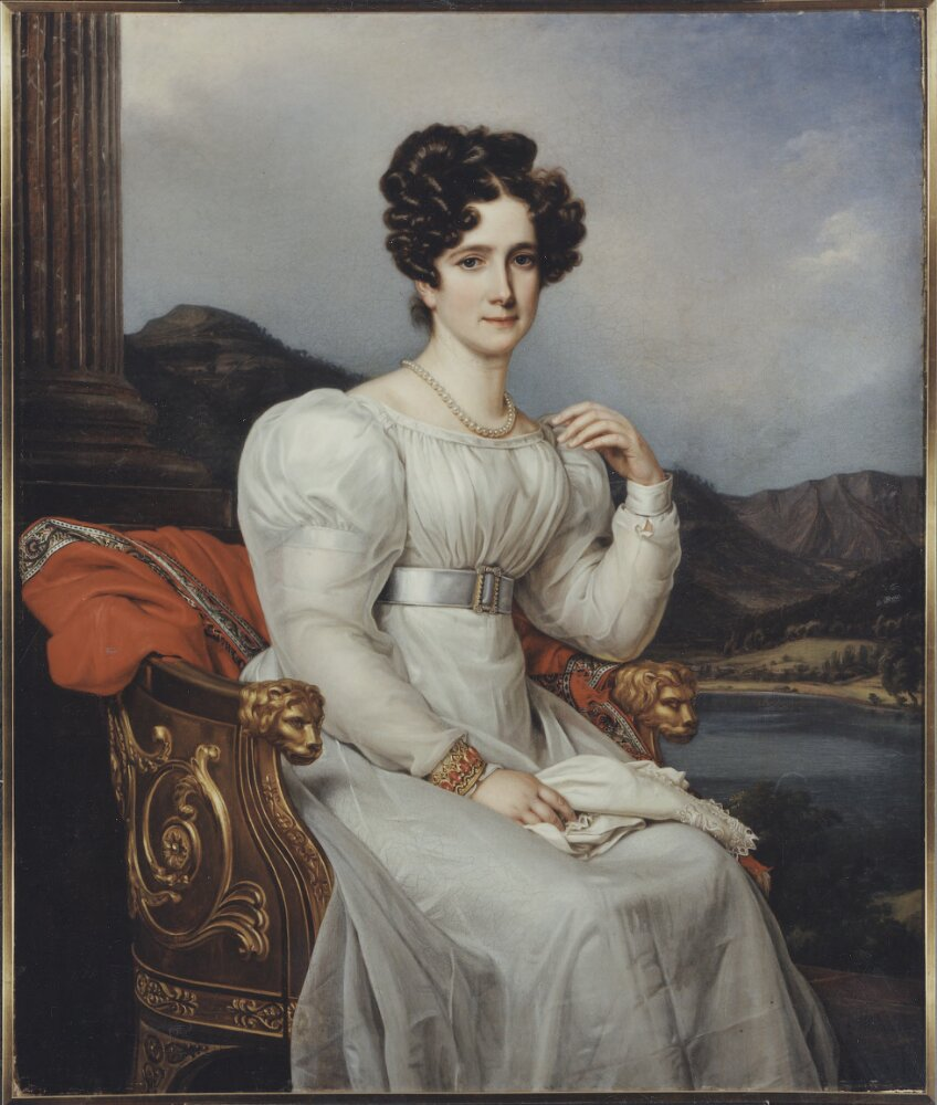 Queen Fredrika of Sweden. Portrait by Joseph Karl Stieler (1781-1858), 1826. In the Nationalmuseum collections. Foto: Nationalmuseum