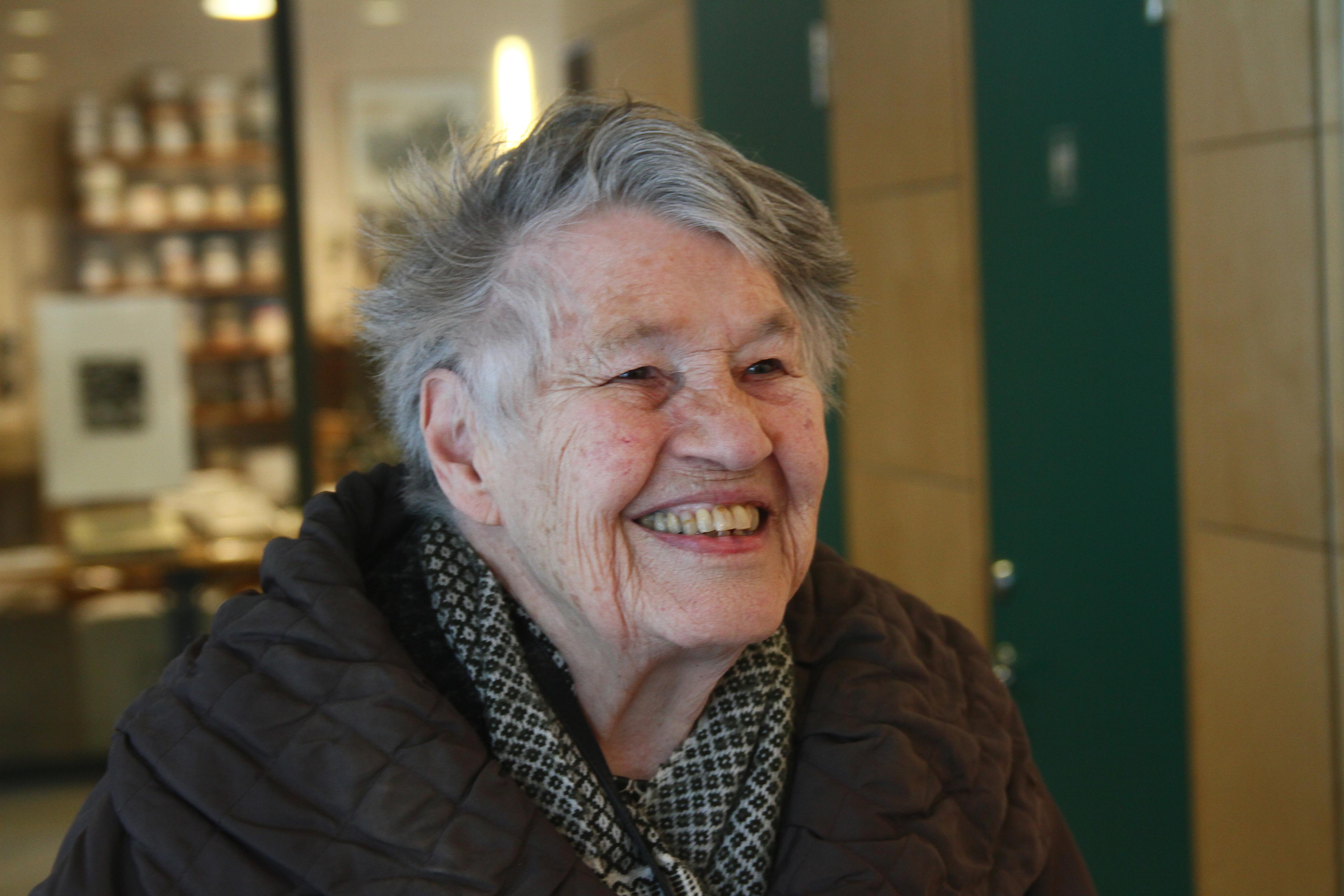 Cecilia Frisendahl, 2012. Photo: Birgitta Modigh (privately owned picture)