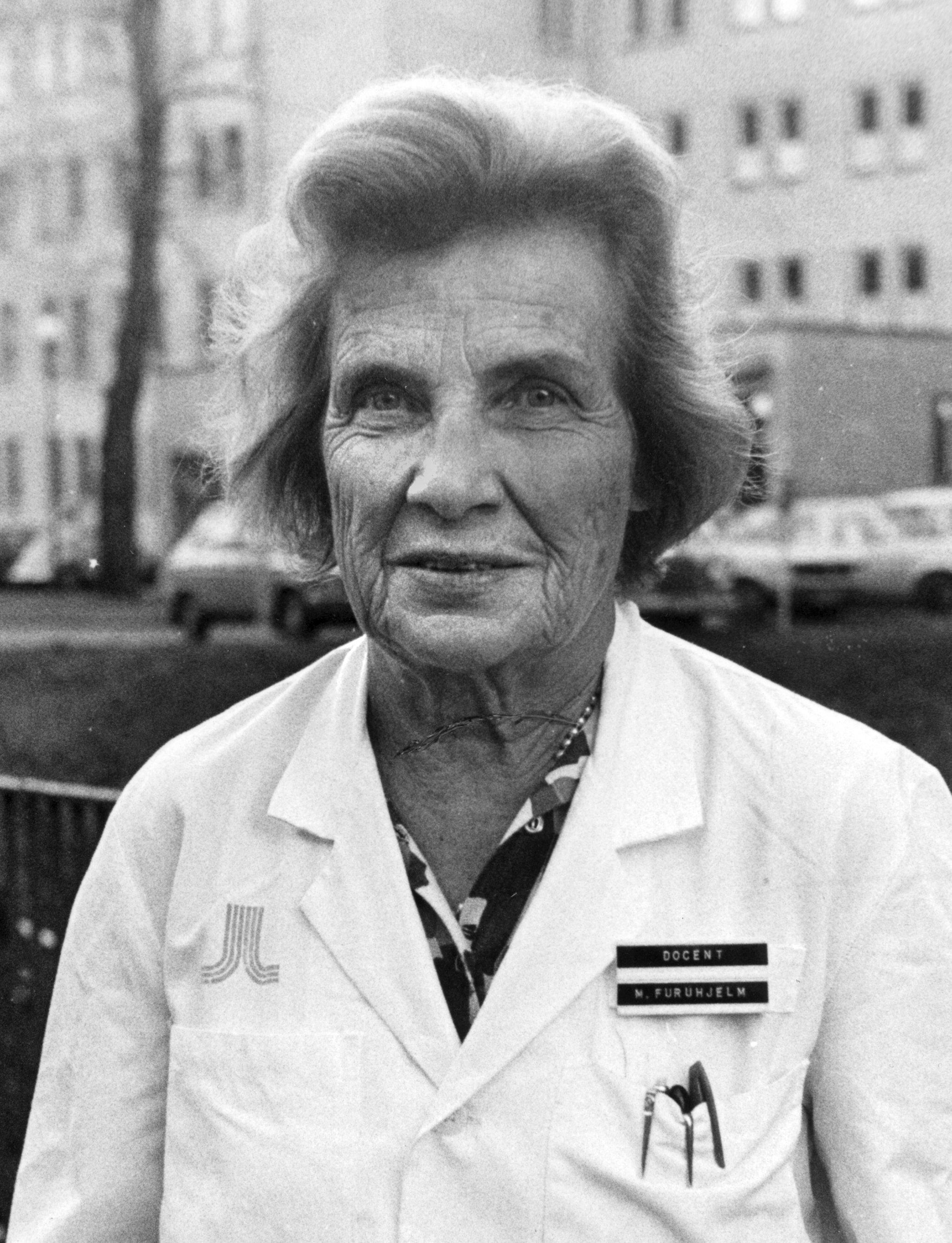 Mirjam Furuhjelm, 1975. Photo: Leif R Jansson (TT)