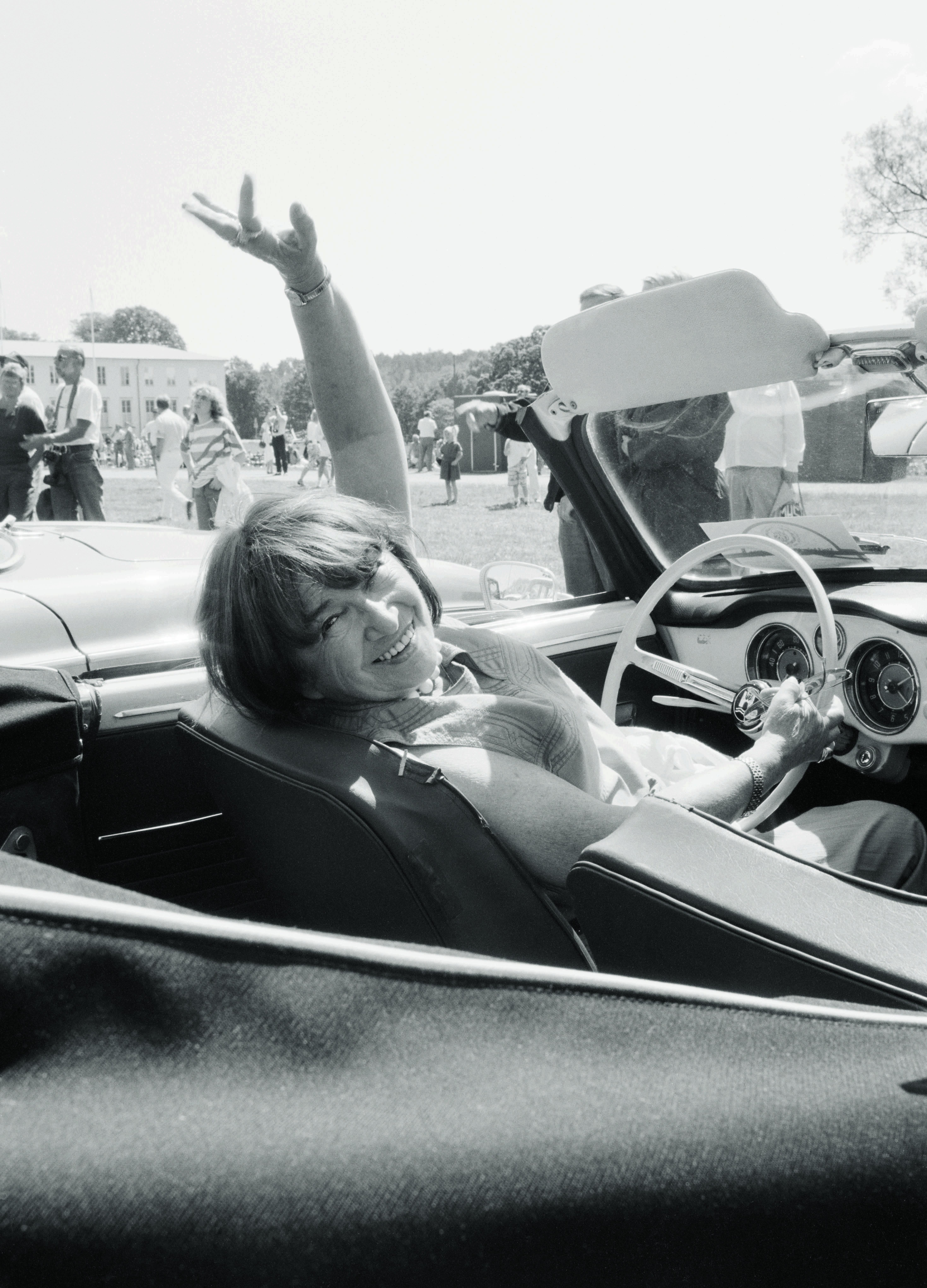 Léonie Geisendorf, 1990. Photo: Charlie Gullström (privately owned image)