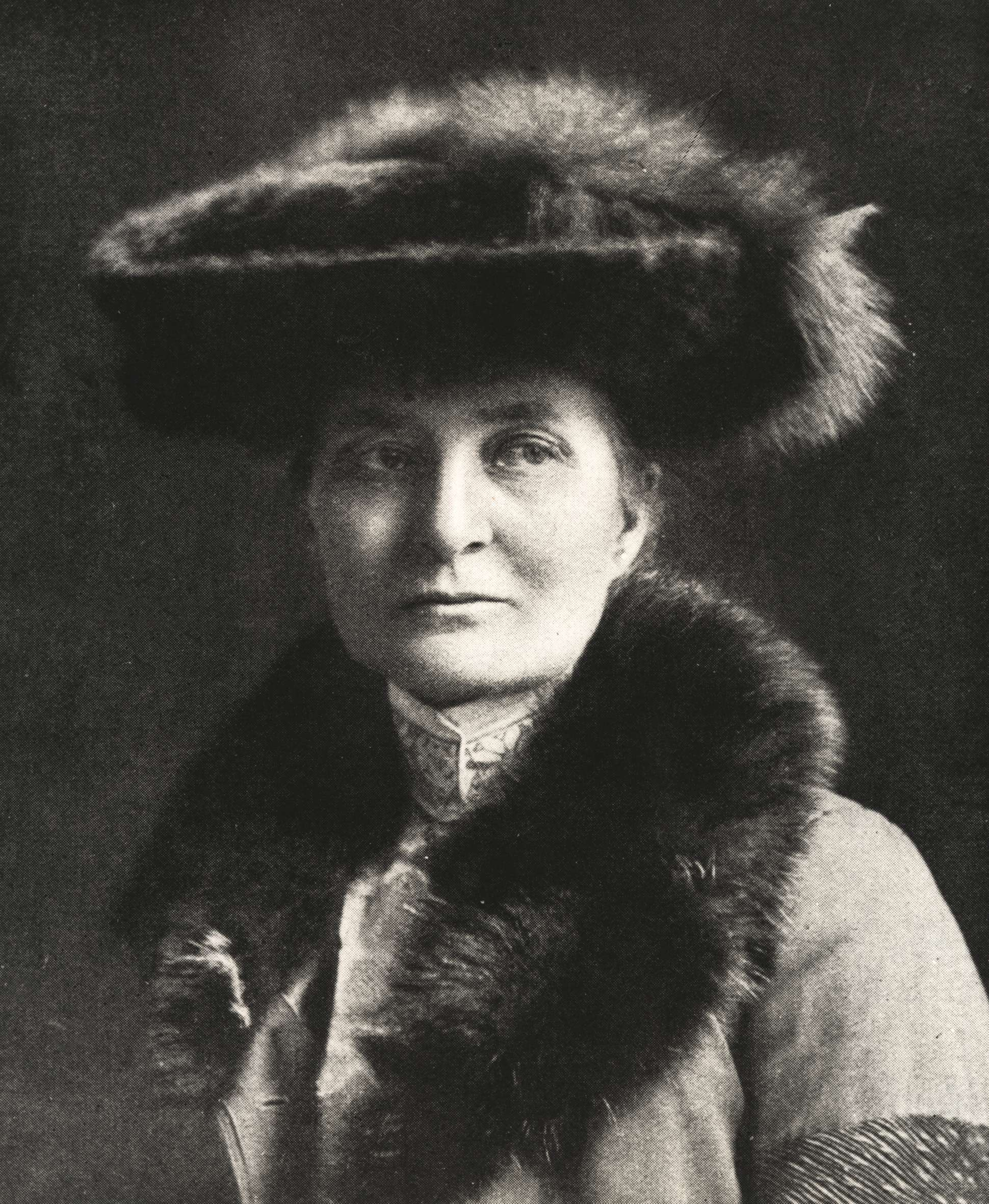 Selma Giöbel, cirka 1910-1915. Fotograf okänd (Nordiska museets arkiv, NMA.0035606)