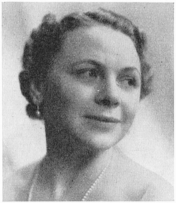 Helga Görlin. Fotograf och år okänt. Bildkälla: Svenskt Porträttarkiv (CC-BY-SA 4.0)