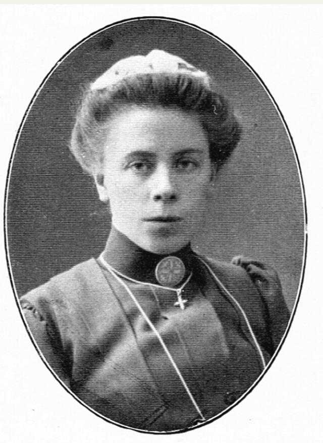 Ida Granqvist. Fotograf och år okänt. Bildkälla: Svenskt Porträttarkiv (CC-BY-SA 4.0)
