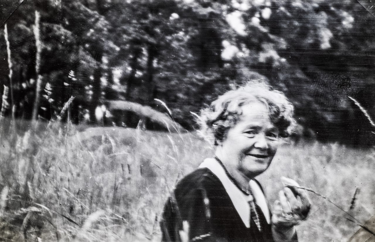 Mimmi Gustafsson, circa 1930s. Photo; Folke Bergh (privately owned image)