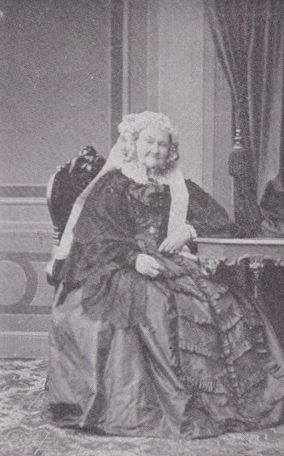 Magdalena Gyllenkrok, år okänt. Foto: Hermann Linde, Lübeck