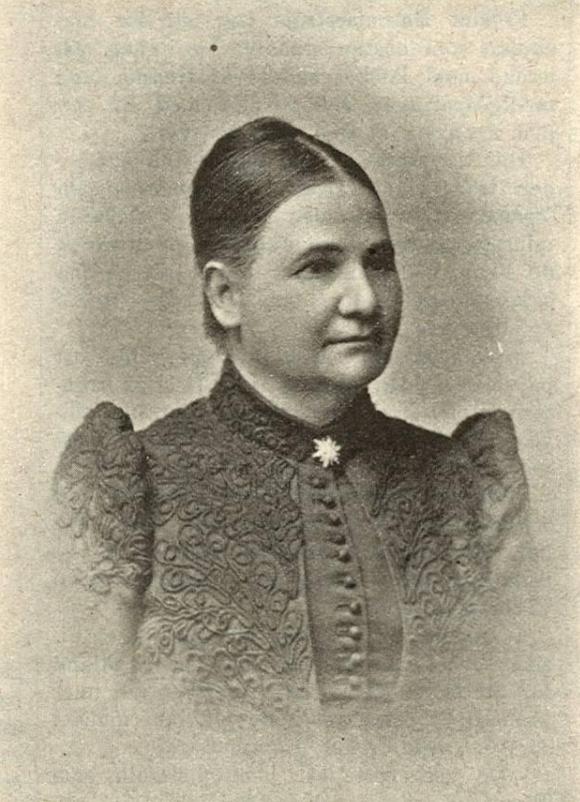 Hanna Hammarström in Idun nr 17, 1898. Photographer unknown (Gothenburg University Library)