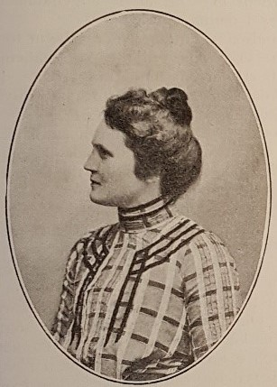 Sigrid Hård af Segerstad in Mitt Hem nr. 8, 1906. Photographer unknown