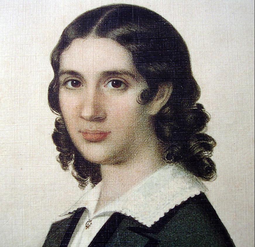Wendela Hebbe, porträtt av C.J. Brummer (Musik- och teaterbiblioteket, Stockholm)