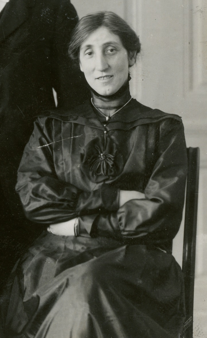 Ella Heckscher, 1922. Photographer unknown, detail (Rasbiologiska institutets samlingar, Uppsala University Library, 10901)