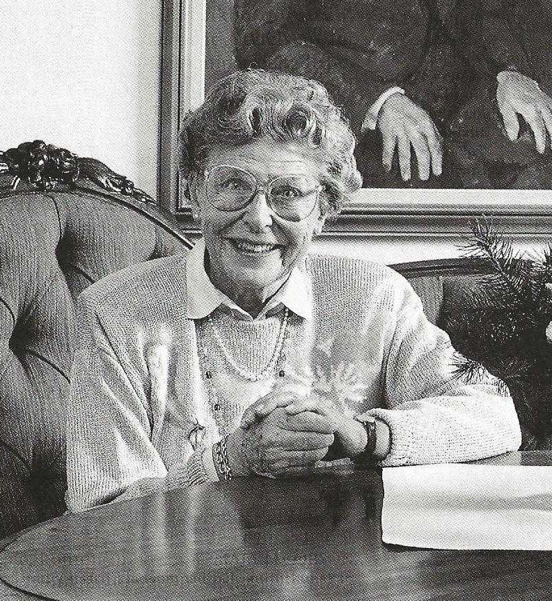 Birgit Herngård, 1990. Photo: Jan Lindmark