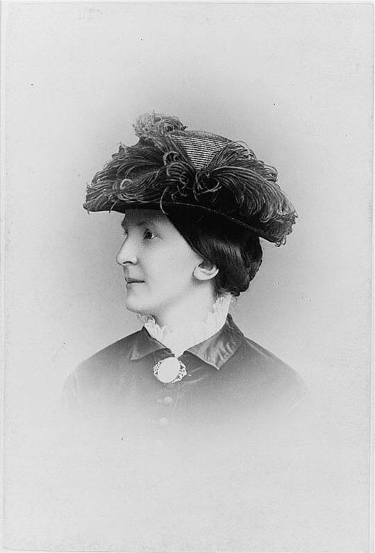 Anna Hierta-Retzius, year unknown. Photo: Selma Jacobsson (1841-1899). Image source: Wikimedia Commons