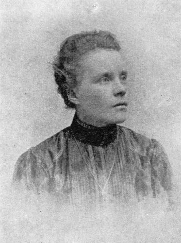 Lina Hjort. Photographer and year unknown (Norrbottens museum image archive)