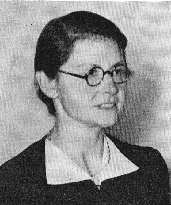 Gerda Höjer. Photographer and year unknown. Image source: Svenskt Porträttarkiv (CC-BY-NC-SA 4.0 – cropped)
