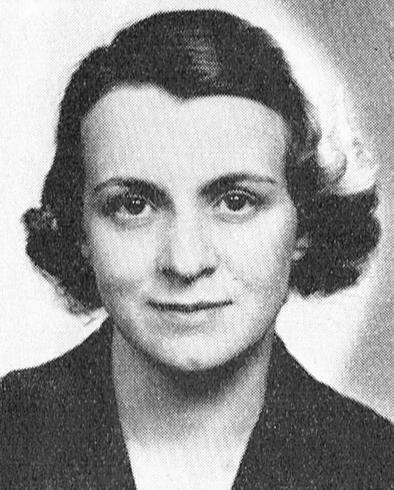 Eva Hökerberg. Fotograf och år okänt. Bildkälla: Svenskt Porträttarkiv (CC-BY-SA 4.0)