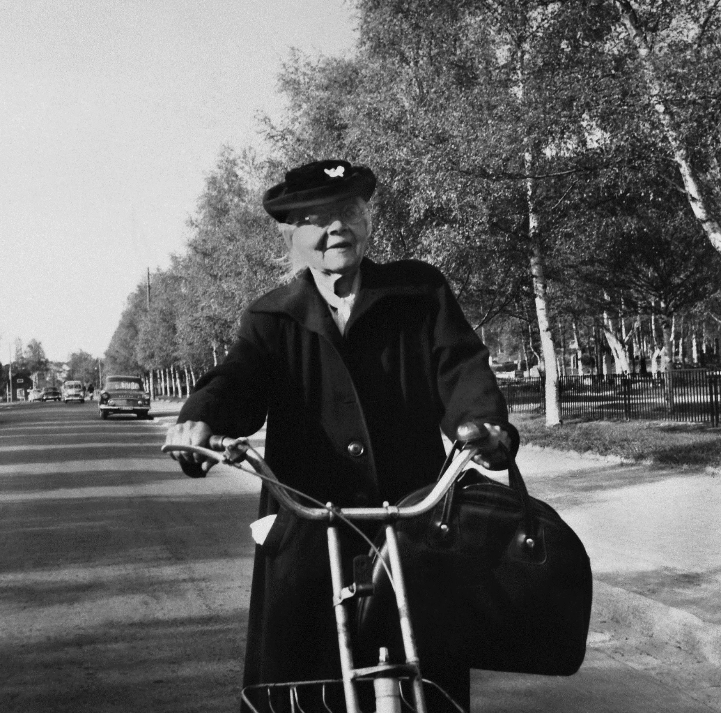 Siri Holm, 1950. Photo: Erik Persson (Luleå kommuns stadsarkiv)