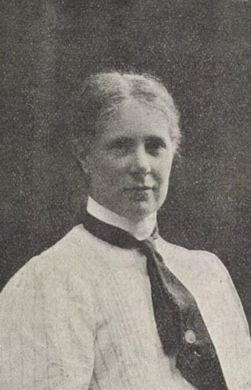 Sofia Holmgren in Dagny nr 27, 1909. Photographer unknown (KvinnSam, Gothenburg University Library)