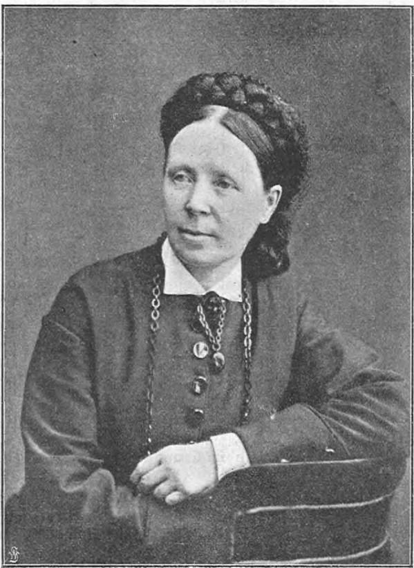 Josefina Holmlund i Idun nr 8, 1897. Fotograf okänd (KvinnSam, Göteborgs universitetsbibliotek)