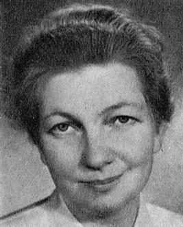 Britta Holmström. Photographer and year unknown. Image source: Svenskt Porträttarkiv (CC-BY-SA 4.0)