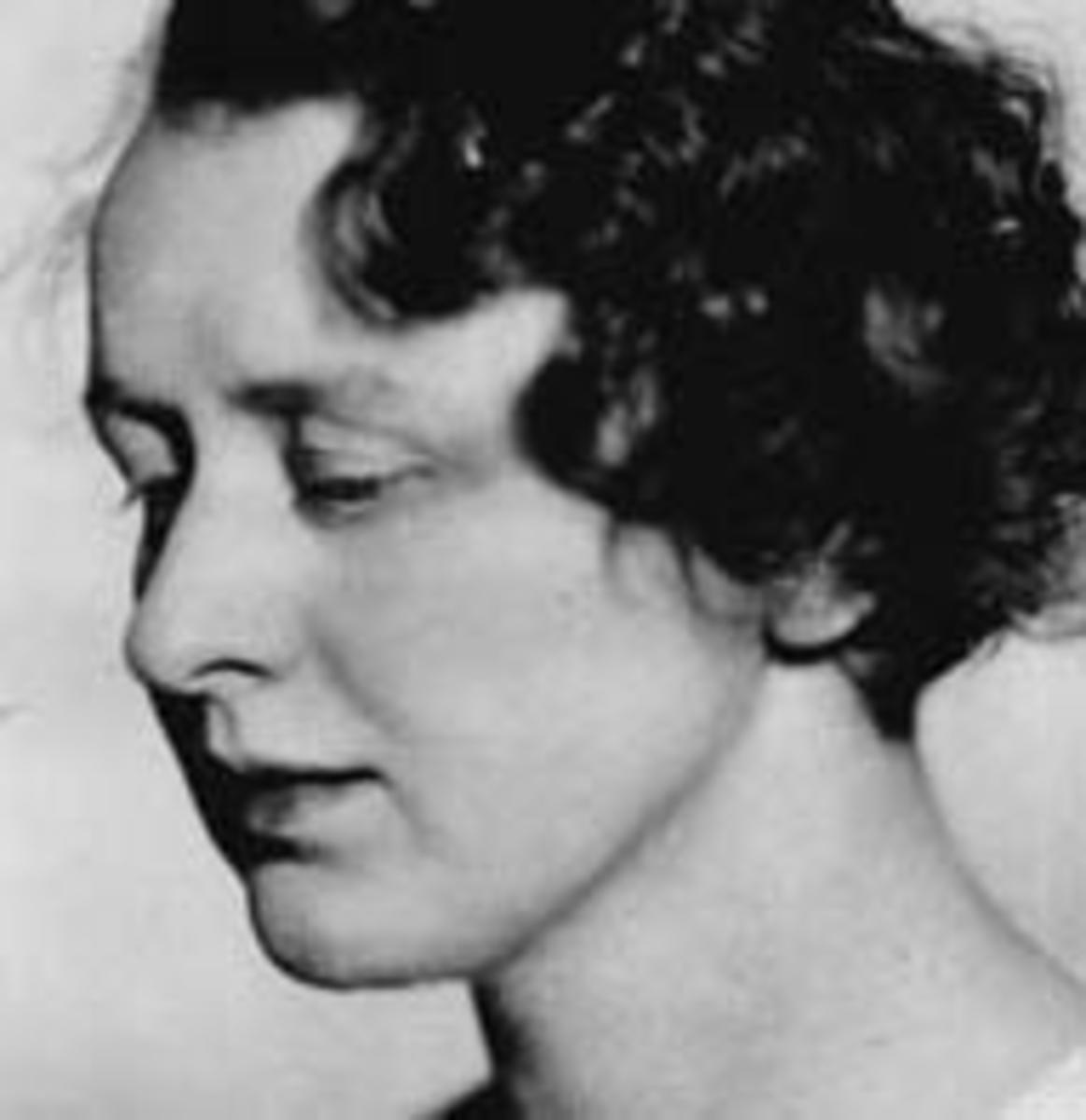 Ingeborg Wærn Bugge (foto från ArkDes, Digitalt Museum)