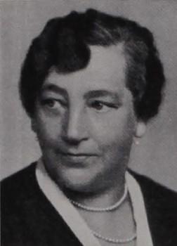 Anna Johansson-Visborg i Stockholms stadsfullmäktiges sjuttiofemårsjubileum, 1913-1938, Stockholm 1938 (Stockholms stadsarkiv SE/SSA/Biblioteket/123:1:83)