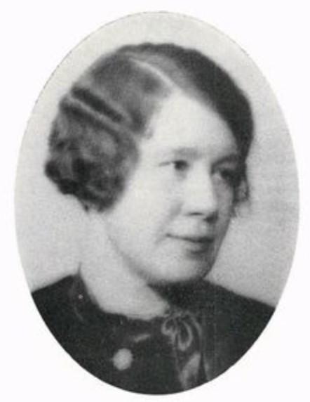 Elsie Johnson in Göteborgs och Bohus läns porträttgalleri. Första delen: Göteborgs stad 1935