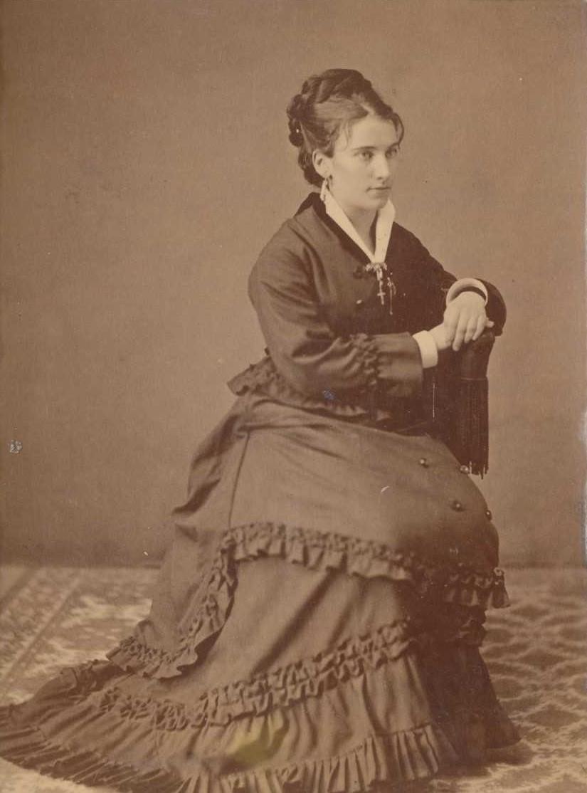 Amalia Jönsson. Fotograf och år okänt (bild i privat ägo)