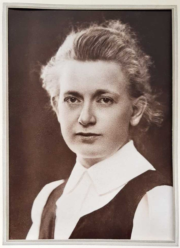 Märta Jörgensen. Photographer and year unknown (privately owned image)
